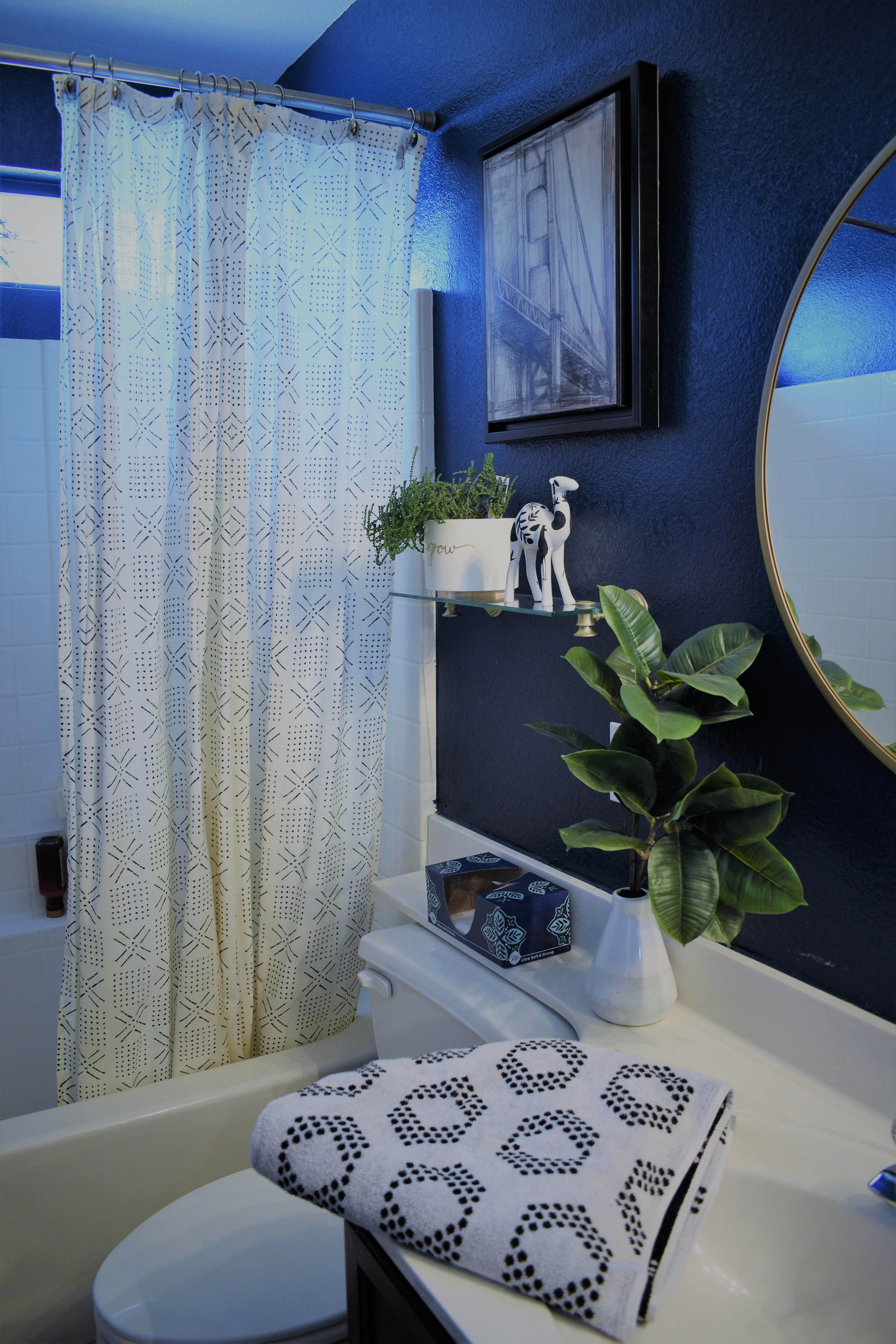 Guest Bathroom: No-Demo-Reno